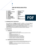 Silabo de Ps. Etica -2020 - 1