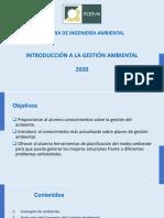 4-CLASE GESTIÓN AMBIENTAL 2020
