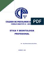 Etica y Deontología Profesional