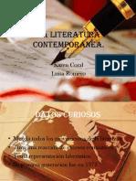 laliteraturacontempornea-130417194058-phpapp01