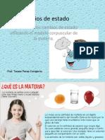 Amanda Aguayo - Clase MCM y  Cambio de estado