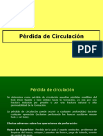 4. Pérdida de Circulación