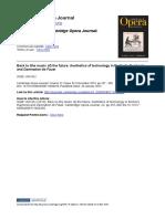 Van Rij 2010 - Aesthetics of technology in Berlioz's Euphonia and Damnation de Faust - COJ
