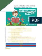Actividades para estimular lectoescritura