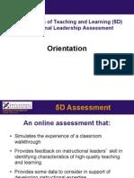 UW CEL 5D Assessment Introduction