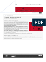 Concierto ROSS sept 2015 + Critica