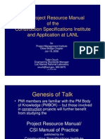 Csi Prm and Lanl - Jan06