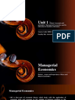 Managerial economics and its Relevance - unit 1.pptx