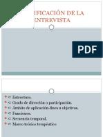 CLASIFICACIÓN DE LA ENTREVISTA 2.pptx