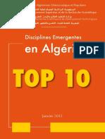 Top 10 Disciplines_MESRS_1991-2011
