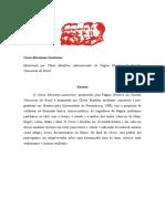 Curso Marxismo (Módulo 1)