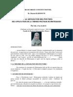 La Séparation des Pouvoirs.pdf
