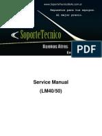 6 Service Manual - LG -Lm40 Lm50
