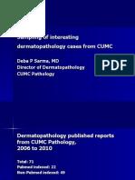 Grand Round Sampling of Interesting Dermatopathology Cases from Creighton University Medical School Dermatopathology Section