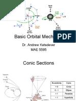 Basic Orbital Mechanics