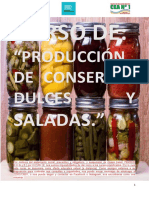 Curso de Conservas dulces y saladas Capítulo 4