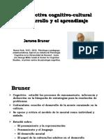 Bruner. Perspectiva Cognitivo Cultural Del Desarrollo