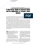 Faj-One Factor Model