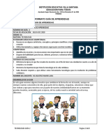 Guía de Aprendizaje Grado 6 Tecnologia - 2