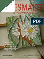 PDF El Esmalte a fuego Sobre Metales