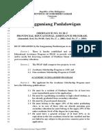 Provincial Educational Assistance Program (1992)