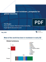 Beyond the great lockdown, prospects for global recovery