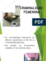 Criminalidad femenina