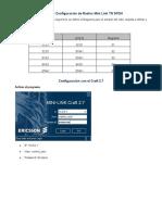 Manual de Configuración de Radios Mini Link TN SPDH (full Pantalla)