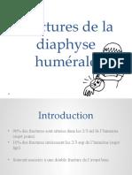 Fractures de la diaphyse humérale