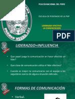 CLASE 3  LIDERAZGO EFECTIVO LA COMUNICACION