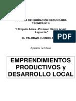 Emprendimientos Productivos y Desarrollo Local