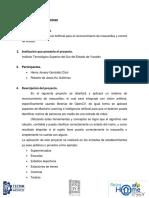Algoritmo de IA para el reconocimiento de mascarillas y control de acceso - Jovany González