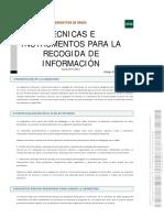 RECOGIDA DE LA INFORMACION