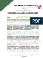 APROBACIÓN DE DIRECTIVA DE LIQUIDACIÓN DE OFICIO
