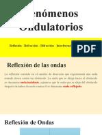 Reflexión y reafracción de ondas