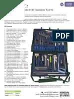 EOD Toolk Kit 35 Piece