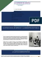 Análisis Justicia Administrativa, Proceso Jurídico Fiscal.