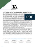 IETA Position Paper
