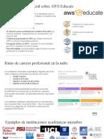 Introduccion al Programa AWS Educate_Espanol