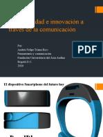 La publicidad e innovación a través de la comunicacion