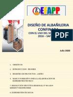 1. Albañileria - EFFAP