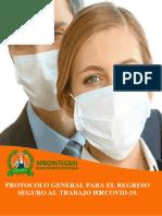 Protocolo de Bioseguridad regreso al trabajo Covid19 APROINTEGRAL