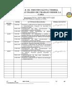 FORMATO DE TRABAJO EN CASA (semana del 30 de junio al 03 de julio)