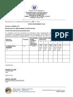 FLor Accomplisment 2nd Week - - Copy
