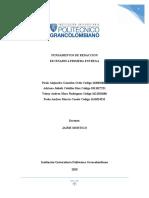 FUNDAMENTOS DE REDACCION PRIMERA ENTREGA