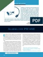 Alarma con PICAXE (Principiante) - SE293