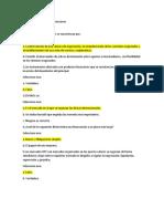 Examen inicial mercados financieros