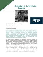 Revolución Industrial y de La Revolución Francesa