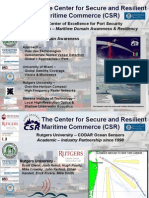 The Center for Secure and Resilient Maritime Commerce (CSR)