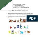 Evaluacion Modulo 1 Español 5º